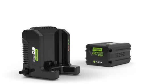Greenworks 60v Charger and Battery